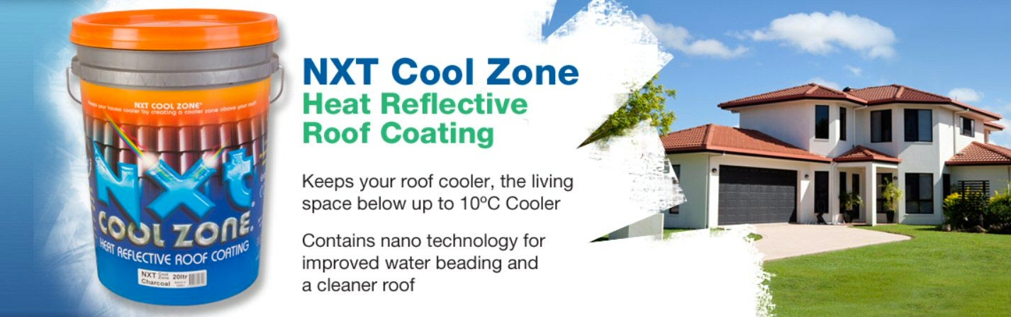 NXT Cool Zone Heat Reflective Roof Coating